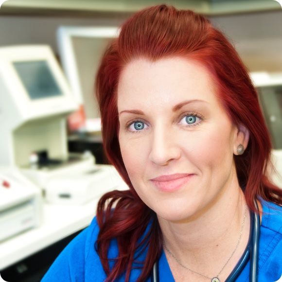 Michelle-Cryer-Certified-Veterinary-Technician suncoast emergency vet 24 hour animal hospital